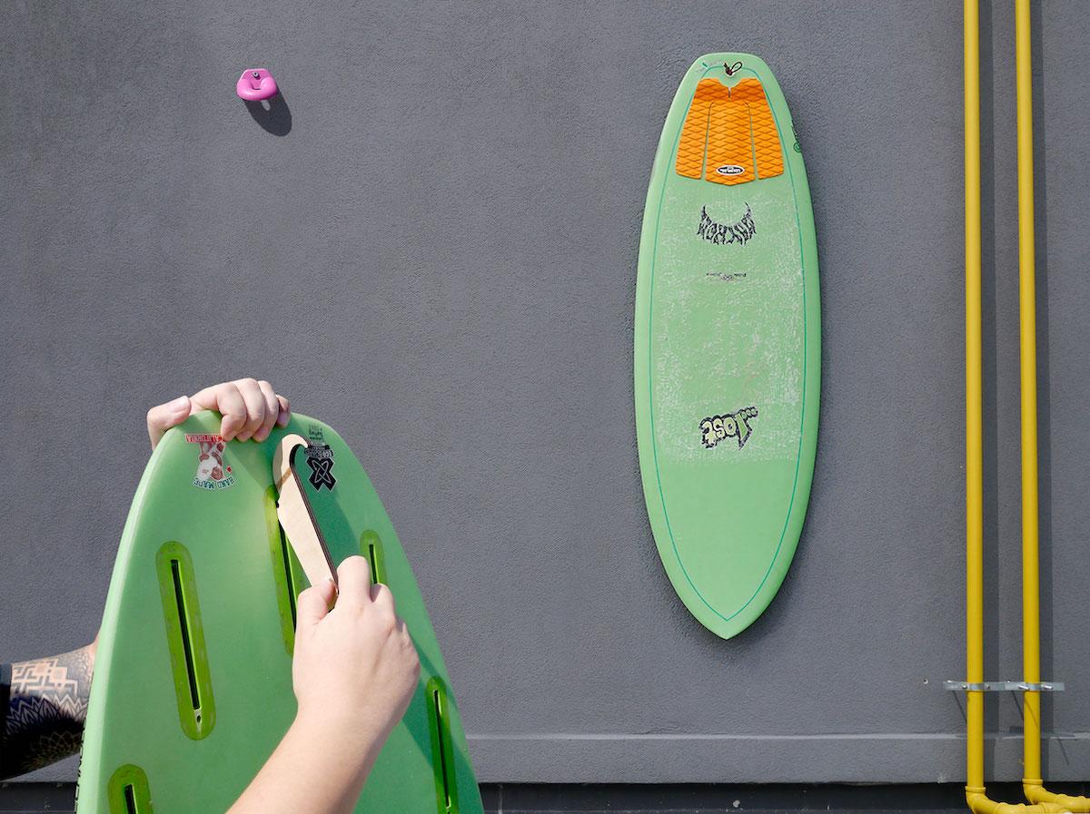 Finnen Flossen f/ür Surfbrett und SUP Eisbach Riders Surfboard Future Fiberglass Honeycomb Fin Thruster Set blau mit Fin Key Gr/ö/ße G5 Medium